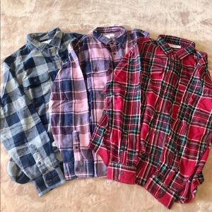 3 OLD NAVY FLANNEL SHIRT